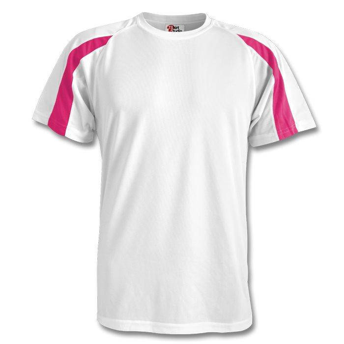 506068430 A medida Camiseta de deporte con contraste Vista previa. Diseño